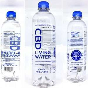 cbd living drink water
