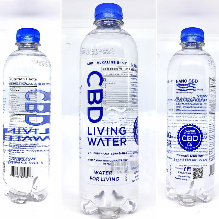 cbd living drink water