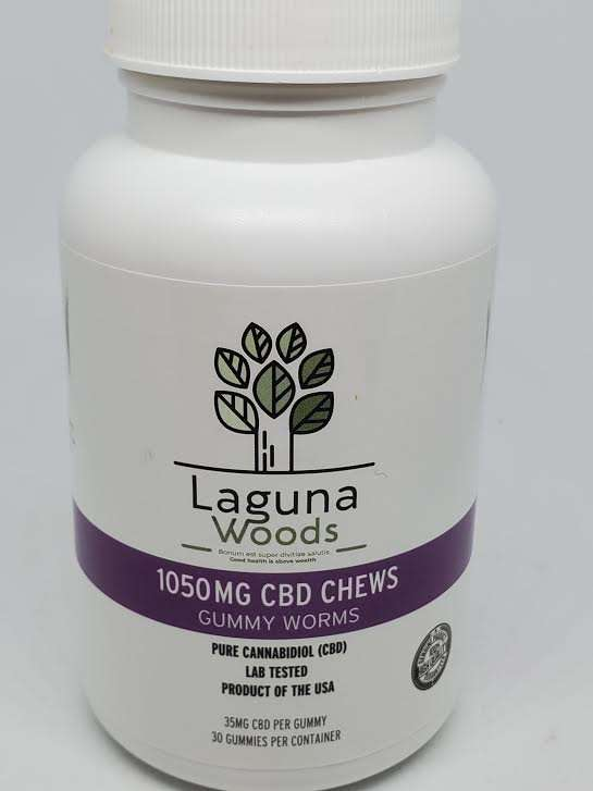 laguna woods gummy worms 1050mg
