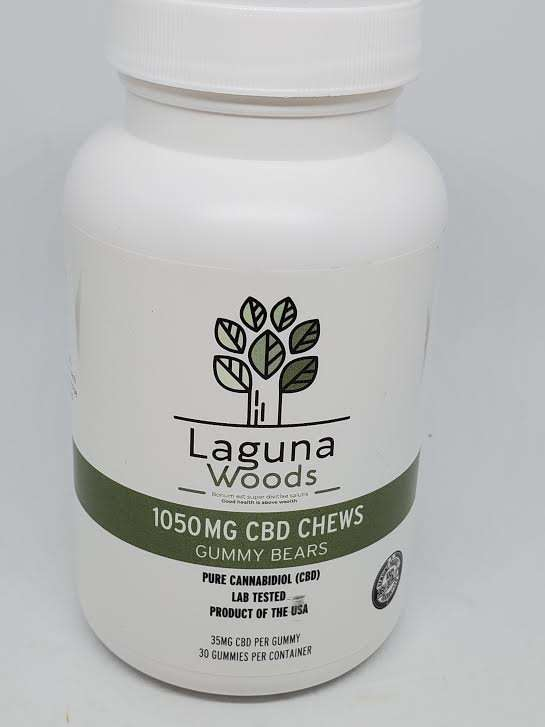laguna woods gummy bears 1050mg